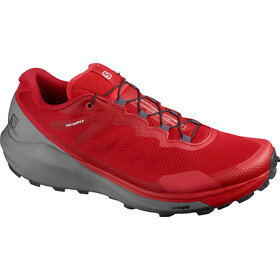 Salomon Sense Ride 3 Shoes Men, goji berry/lunar rock/red orange